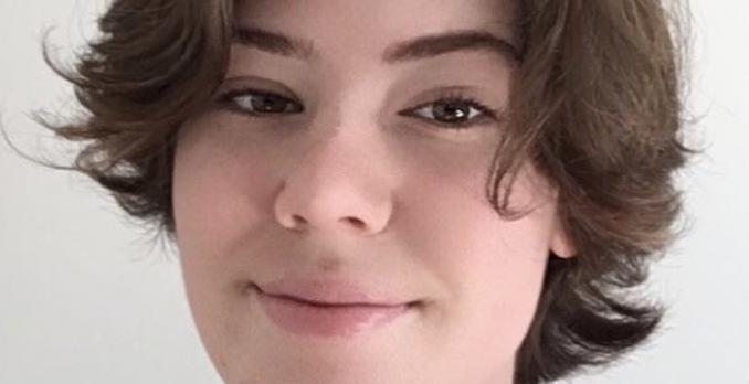 Profilbild av elev på Designgymnasiet.